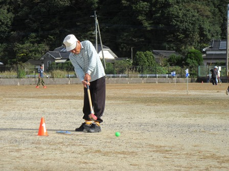 グラウンドゴルフ大会