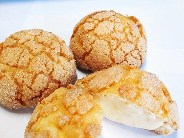 メロンクッキーシュー