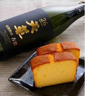 純米焼酎ケーキ「天草」