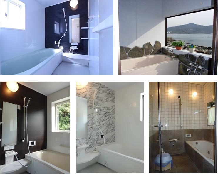 スマイルホームのお家。お風呂