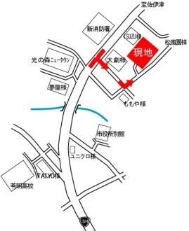 スマイルタウン広瀬地図
