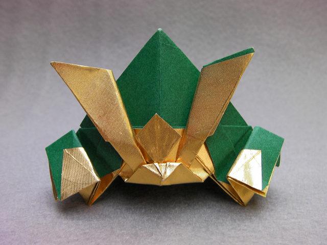 ハート 折り紙 かぶと 折り紙 作り方 : divulgando.net