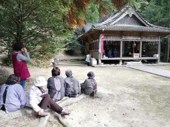 板之河内(いたのかわち)の十五社宮の神事と神楽を訪ねました