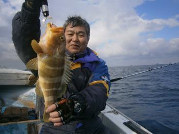 アジ泳がせ釣り