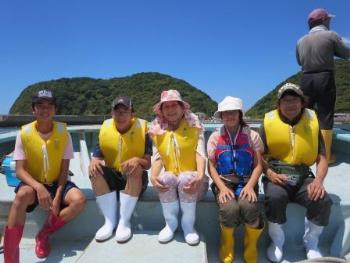 観光定置網漁 8-20-1
