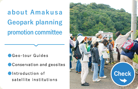 about Amakusa Geopark planning promotion committee