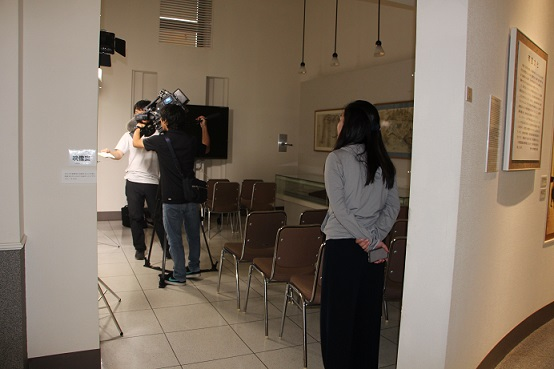 天草コレジヨ館 TV取材