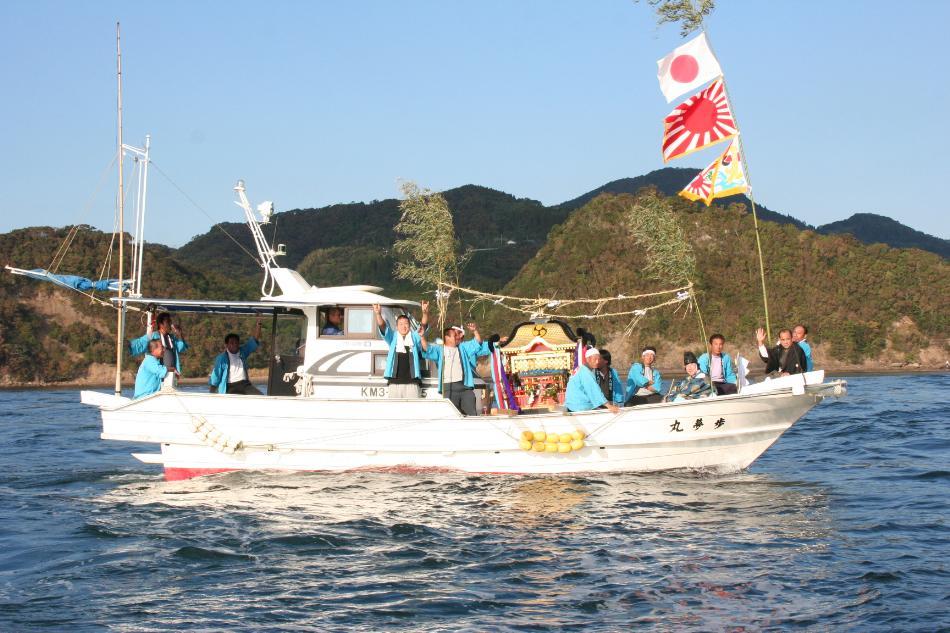 海を渡る祭礼4