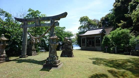 産島の神社