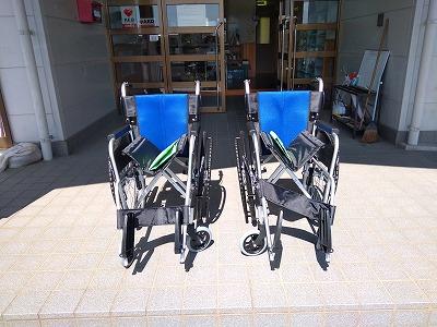 新しい車椅子がきました!