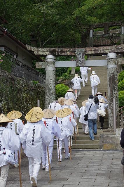 﨑津神社参拝