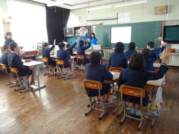 2017/12/13 小学校で出前授業を行いました / 日記 / 海にうかぶ博物館 ...