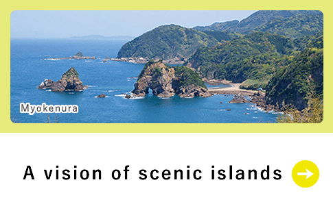 A vision of scenic islands
