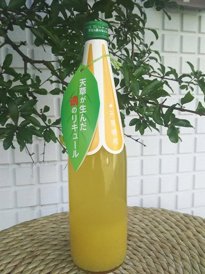 天草晩柑リキュール(天草酒造)