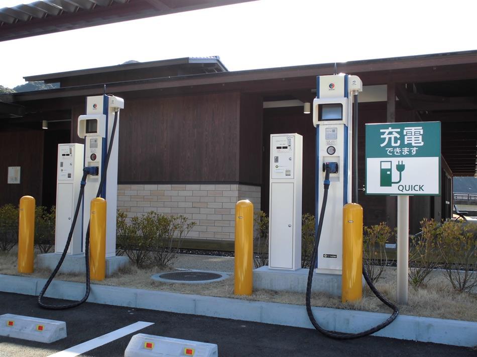 電気自動車(EV)用急速充電器①