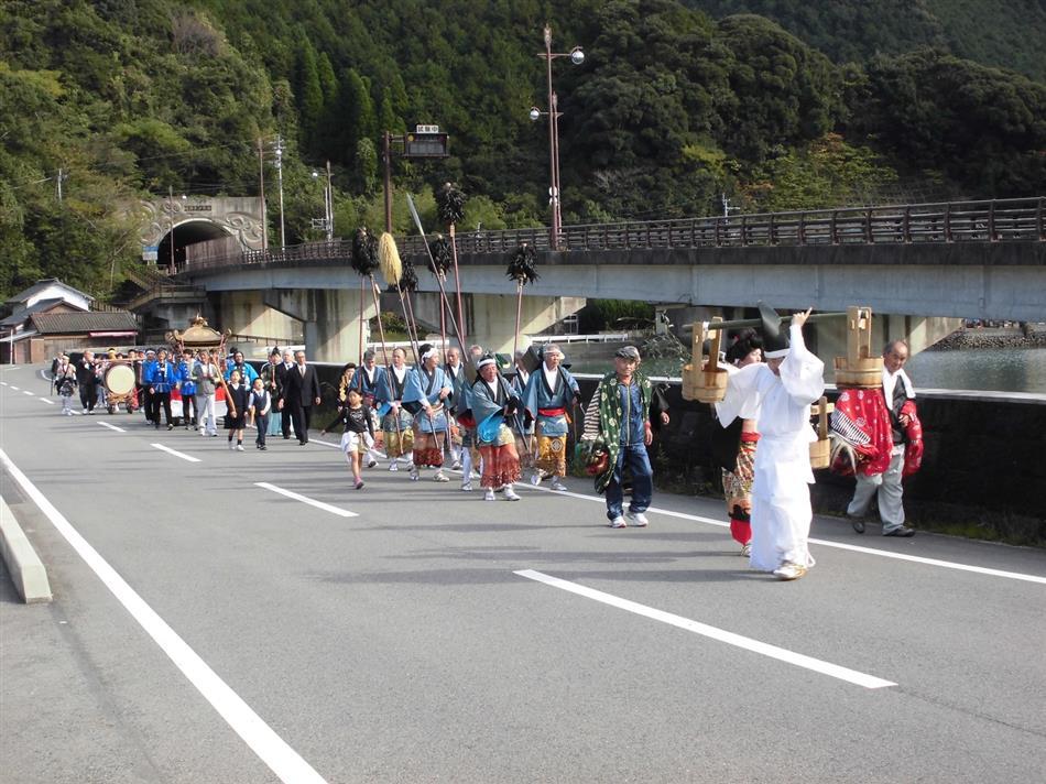 諏訪神社祭り②