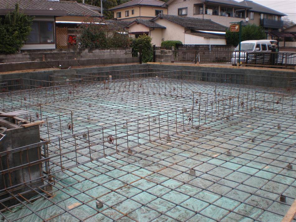 時田邸基礎工事