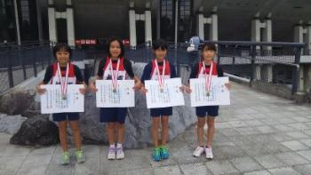 熊日学童オリンピック4年100m×4リレー決勝