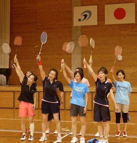 県体代表女子選手