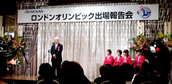 日本バドミントン協会専務理事