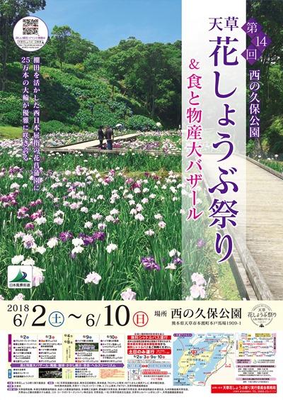 第14回天草花しょうぶ祭りポスター(サムネ用)