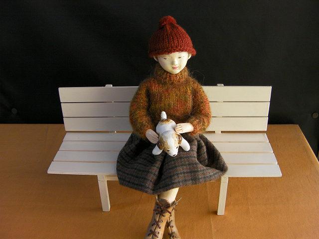 創作人形「 手編みのセーター 」