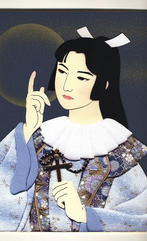 今月の押絵 九月「 四郎の祈り 」