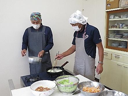 男性の料理教室2