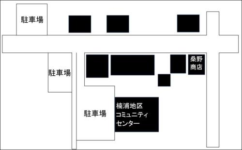 楠浦コミセン周辺図