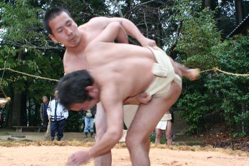奉納相撲1