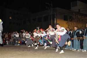 三社祭り 魚貫住吉神社の太鼓踊り