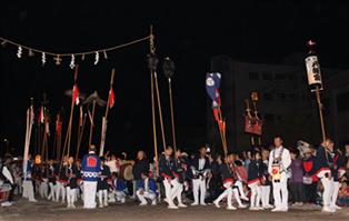 三社祭り 久玉八幡宮の行列
