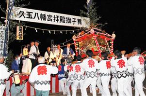 三社祭り 久玉八幡宮の神輿