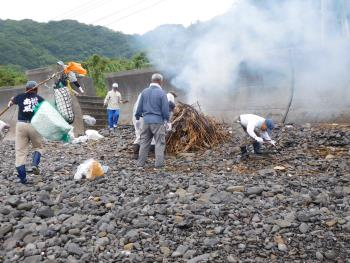1・2区海掃除