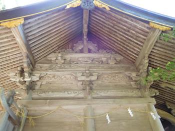 住吉神社!彫刻