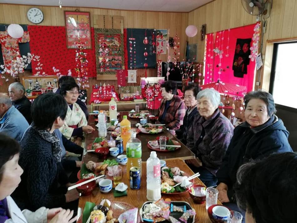 2019年 3/2(土)河浦町主留のひな祭りに行ってきました