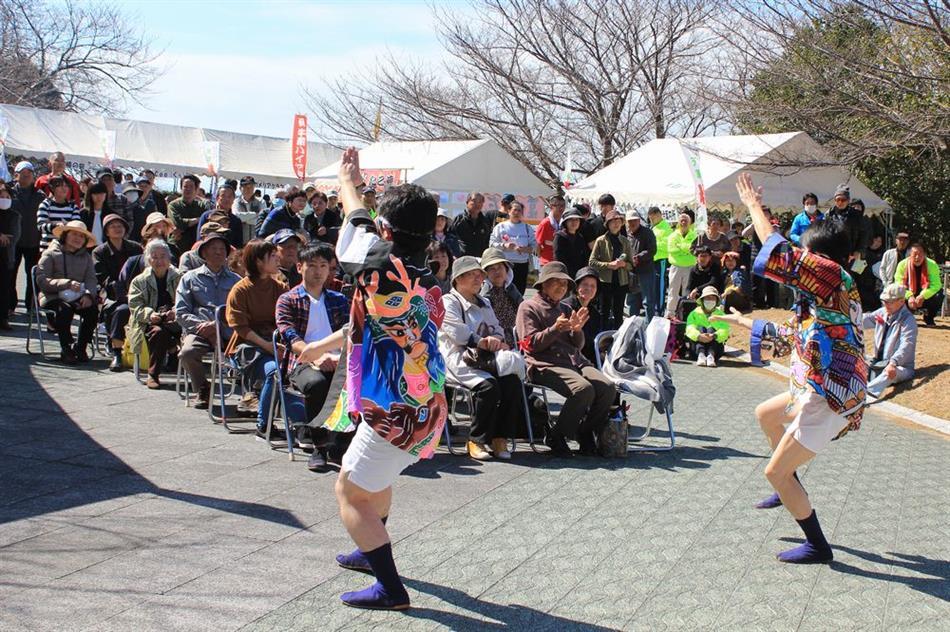H30椿まつり ⑦ステージ(牛深ハイヤ踊り)