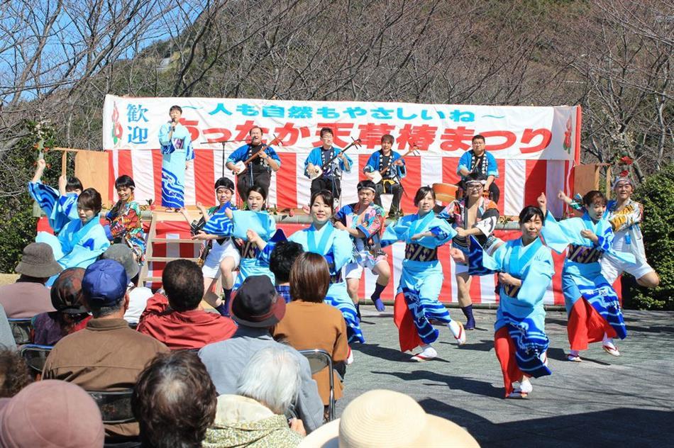 H30椿まつり ⑥ステージ(牛深ハイヤ踊り)