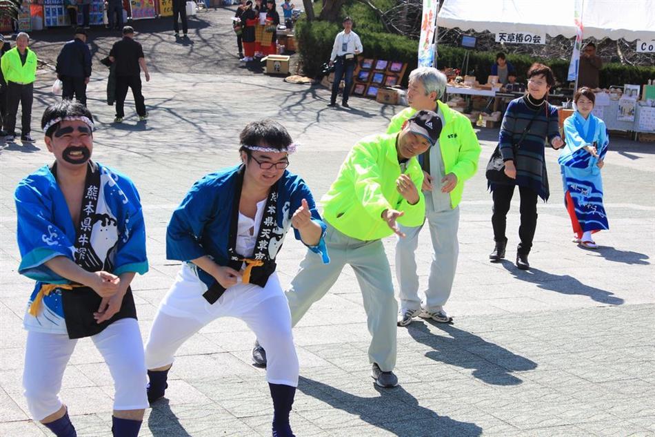 H30椿まつり ⑧ステージ(牛深ハイヤ踊り)