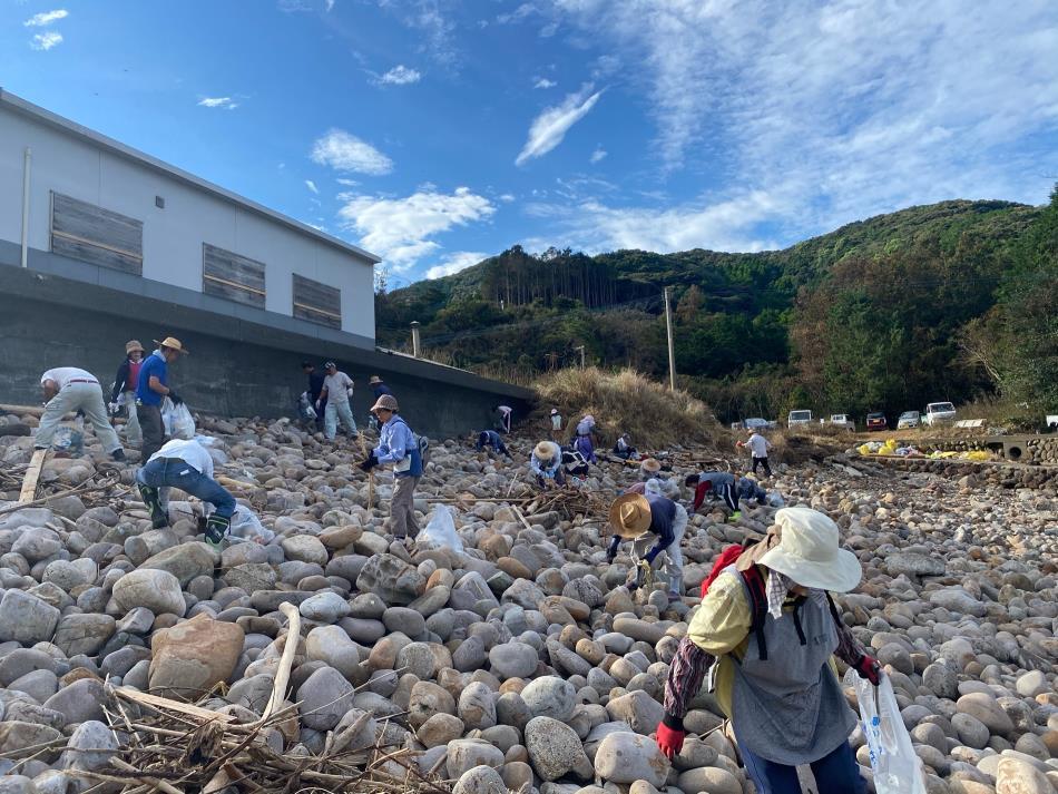 小田床川・河川ボランティア清掃を行いました