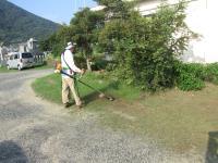 保・草刈り9月