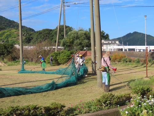 漁民グラウンド草刈り・清掃