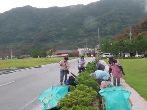 竹地公園清掃