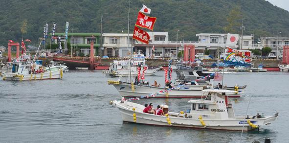 H24祭り 海上パレード