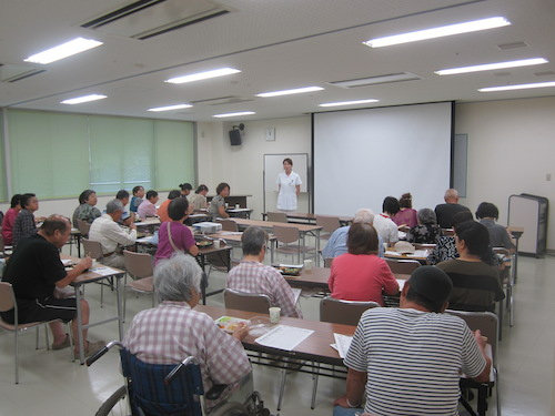 糖尿病教室2014年9月