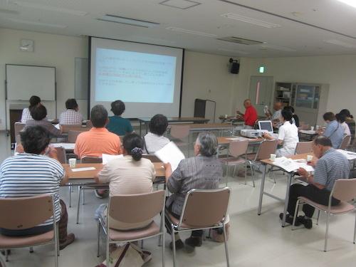 糖尿病教室2014年7月