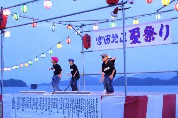 平成29年度宮田地区夏祭り(ヒップホップ)