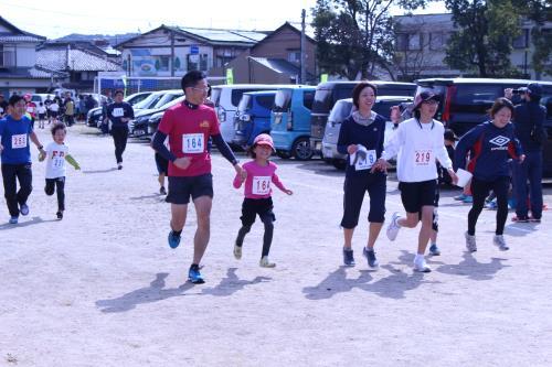 第32回宮田ペアーマラソン大会(ゴール②)