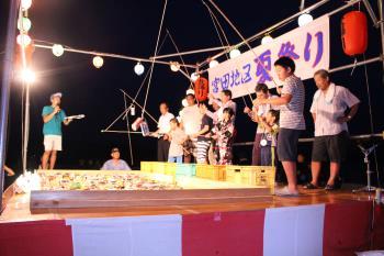 平成29年度宮田地区夏祭り(空き缶釣り)