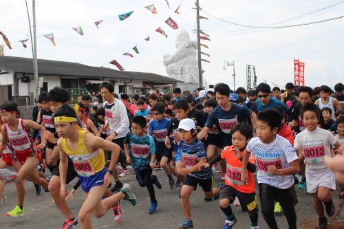 2019倉岳えびすマラソン大会(3kmスタート①)